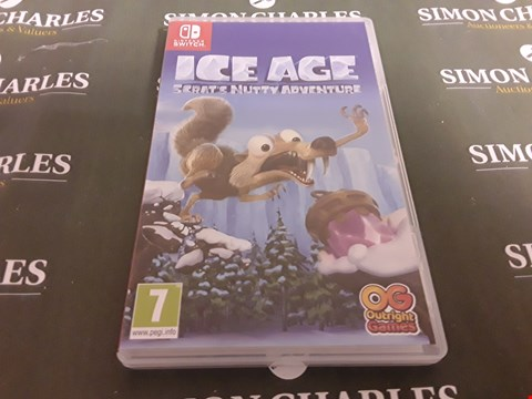 Lot 1206 ICE AGE SCRATS NUTTY ADVENTURE FOR NINTENDO SWITCH