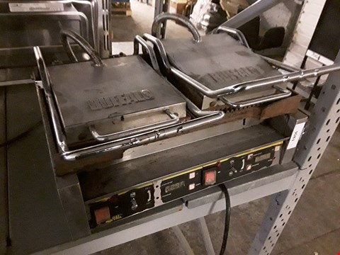 Lot 9083 BUFFALLO L554-B-02 TWO PRESS GRIDDLE PAN