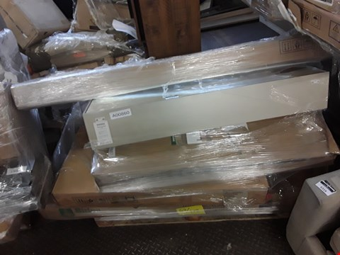 Lot 344 PALLET OF ASSORTED FLAT PACK FURNITURE/PARTS