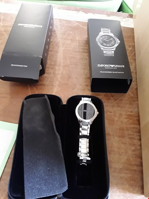 Lot 41 EMPORIO ARMANI CONNECTED TOUCH SCREEN SMART WATCH  RRP £499