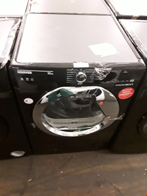 Lot 29 HOOVER DYNAMIC NEXT DXC10TCEB FRONT-LOADING ELECTRIC DRYER - 10 KG - BLACK RRP £379.00