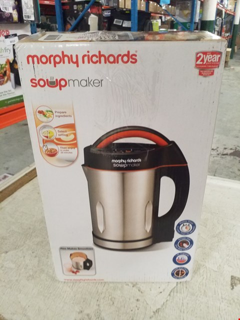 Lot 8394 MORPHY RICHARDS SOUP MAKER