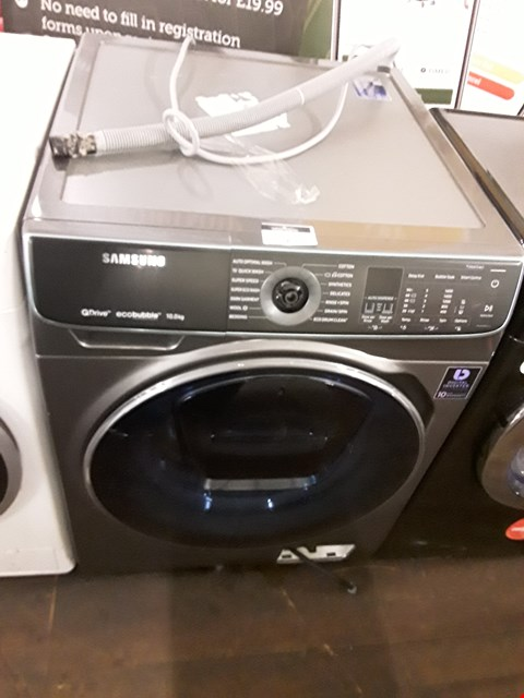 Lot 9 SAMSUNG WW10M86DQOAEU QUICKDRIVE 10KG WASHING MACHINE
