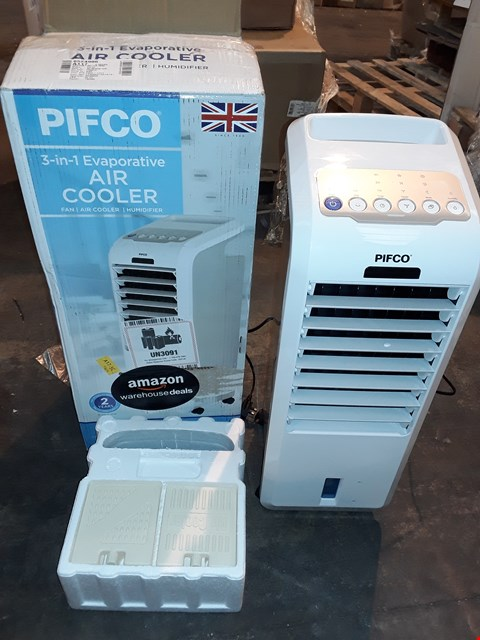 Lot 1202 PIFCO 3 IN 1 EVAPORATIVE AIR COOLER