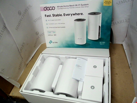 Lot 10356 DECO WHOLE HOME MESH WIFI SYSTEM