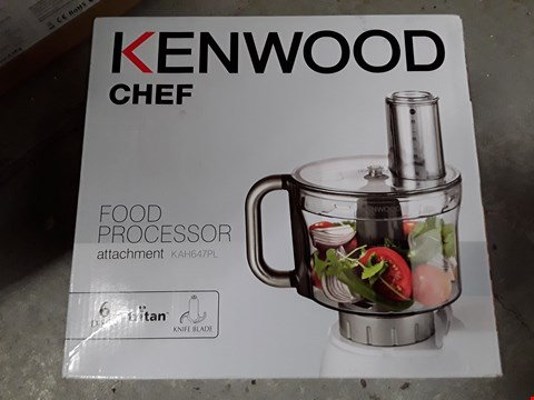 Lot 481 KENWOOD CHEF FOOD PROCESSOR ATTACHMENT