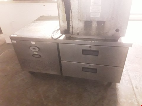 Lot 90 FOSTER LOW TWO DRAWER REFRIGERATED UNIT