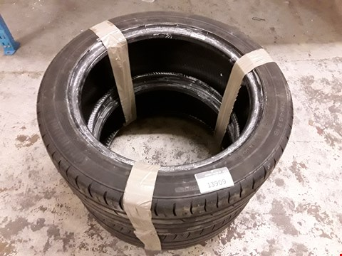 Lot 13909 LOT OF 2 CONTINENTAL PREMIUM CONTACT 2 VEHICLE TYRES