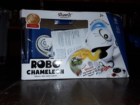 Lot 1005 SILVERLIT ROBOT ROBO CHAMELELON REMOTE CONTROL TOY RRP £50
