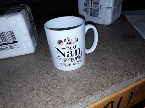 Lot 65 PERSONALISED BEST NAN MUG  RRP £13.00