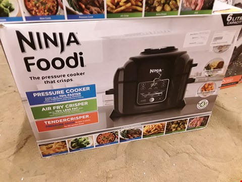 Lot 65 BOXED NINJA FOODI 6L PRESSURE COOKER THAT CRISPS