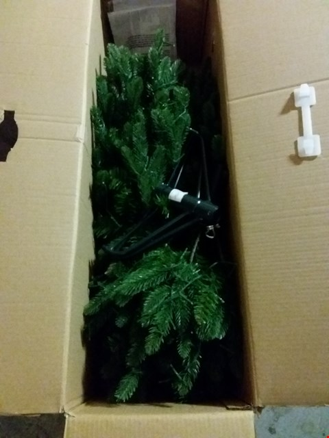 Lot 459 LOT TO INCLUDE 3 DRAWER CHEST, 4FT STARRY XMAS TREE
