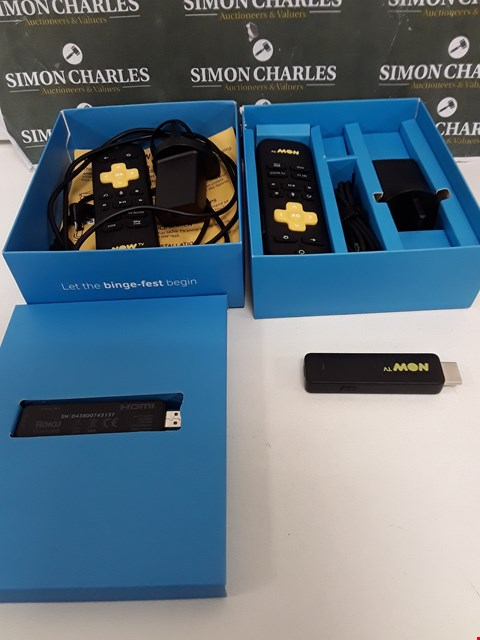 Lot 245 TWO BOXED NOW TV SMART STICKS