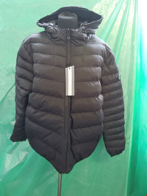 Lot 4091 BRAND NEW FORAY NEPTUNE BLACK COAT SIZE M RRP £75.00