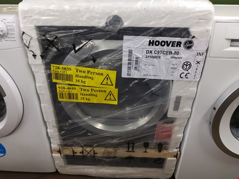 Lot 7017 HOOVER DXC9TCEB 9KG DYNAMIC NEXT TUMBLE DRYER  RRP £339.00