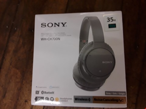 Lot 86 GRADE 1 BOXED & SEALED SONY WH-CH700N WIRELESS HEADPHONES RRP £199.00