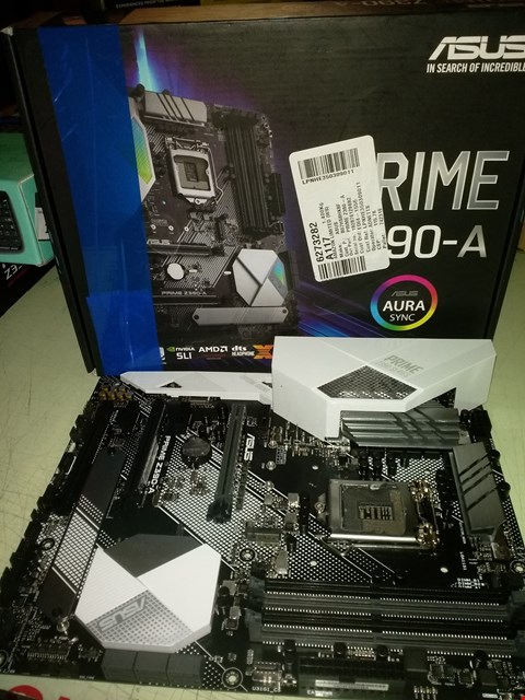 Lot 18709 ASUS PRIME Z390-A LGA1151 (INTEL 8TH AND 9TH GEN) ATX DDR4 DP HDMI M.2 USB 3.1 GEN2 GIGABIT LAN MOTHERBOARD