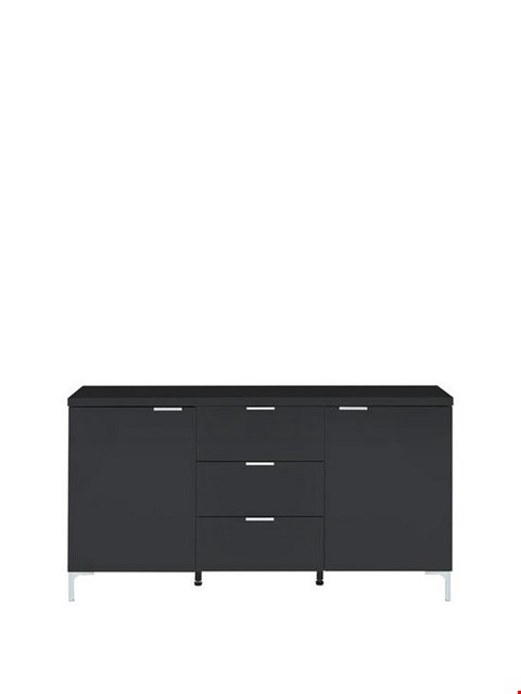 Lot 296 BRAND NEW BOXED ADIRA HIGH GLOSS LARGE SIDEBOARD RRP £199.00