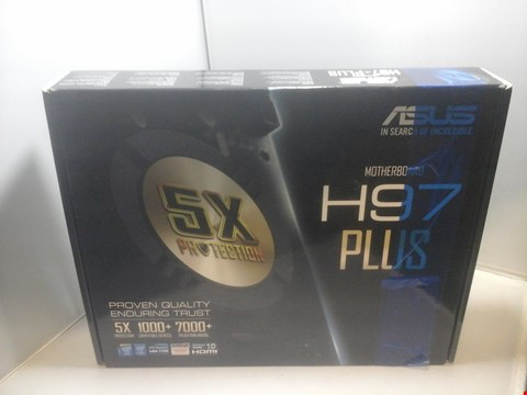 Lot 1004 BOXED ASUS H97 PLUS MOTHERBOARD