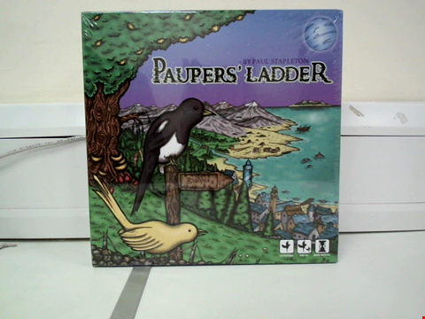 Lot 8014 PAUL STAPLETON PAUPERS' LADDER BOARD GAME