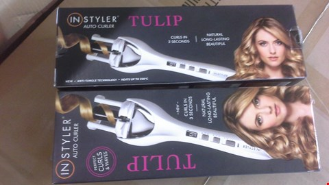 Lot 2037 A LOT OF 2 INSTYLER TULIP AUTO CURLER