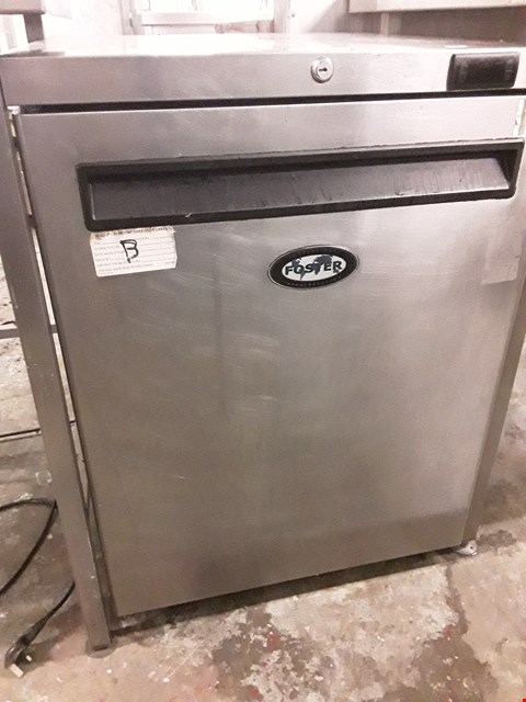 Lot 65 FOSTER UNDER COUNTER FRIDGE