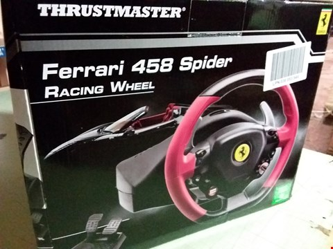 Lot 260 THRUSTMASTER FERRARI STEERING WHEEL KIT