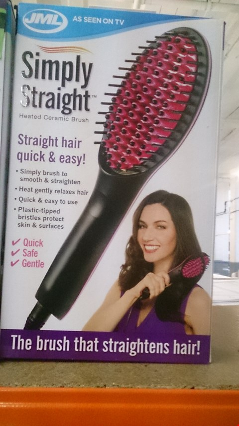 Lot 508 BOXED SIMPLY STRAIGHT BRUSH