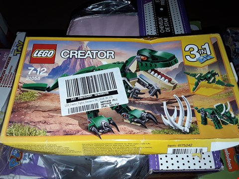 Lot 5048 LEGO 31058 CREATOR 3 IN 1 MIGHTY DINOSAURS SET RRP £1758.00