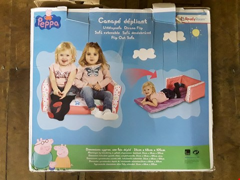Lot 2339 GRADE 1 PEPPA PIG FLIP OUT MINI SOFA RRP £30