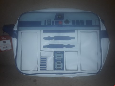 Lot 408 BRAND NEW STAR WARS R2-D2 MESSENGER BAG