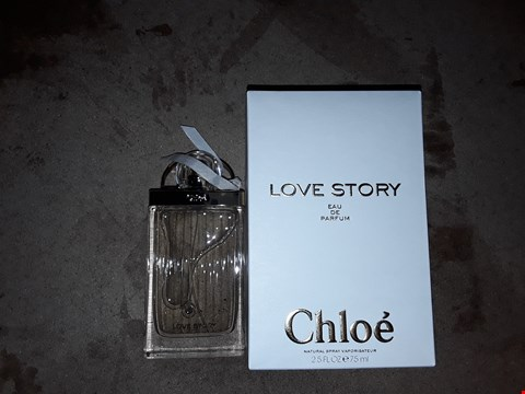 Lot 2089 LOVE STORY EAU DE PARFUM CHLOE PERFUME SPRAY 75ML