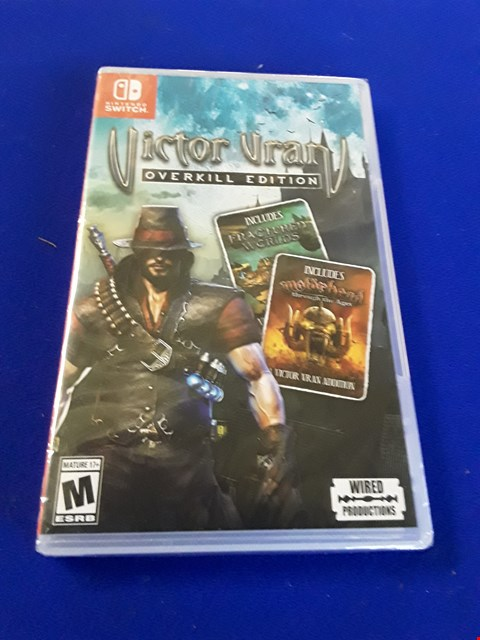 Lot 7603 VICTOR VRAN: OVERKILL EDITION NINTENDO SWITCH GAME