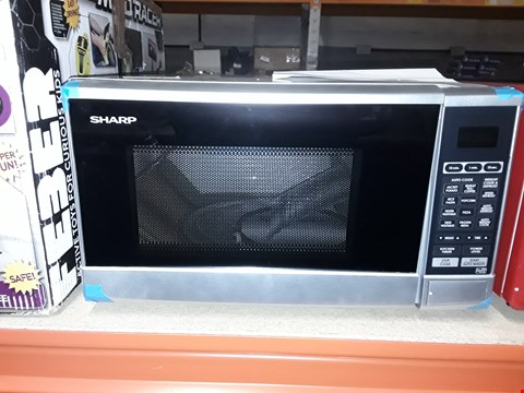 Lot 1392 SHARP R270SLM 20L 800W SOLO MICROWAVE RRP £99.99