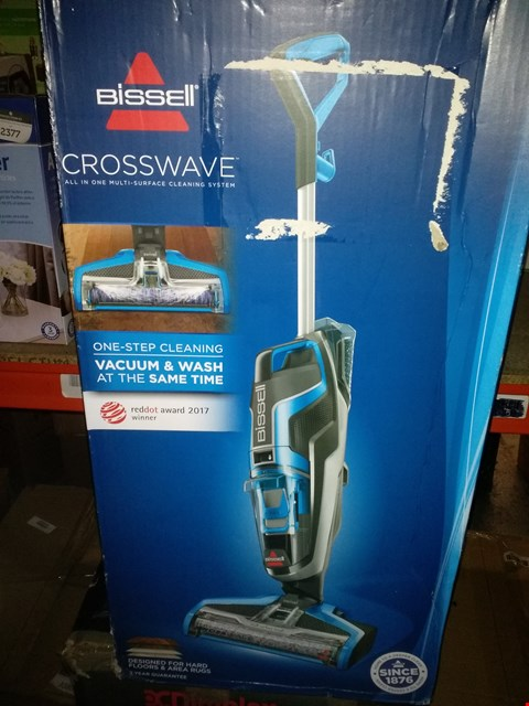 Lot 2371 BISSELL CROSSWAVE MULTI SURFACE CLEANING SYSTEM