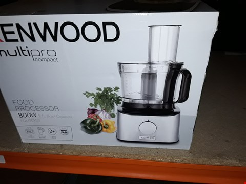 Lot 12491 BOXED KENWOOD MULTI PRO COMPACT BLENDER/ FOOD PROCESSOR