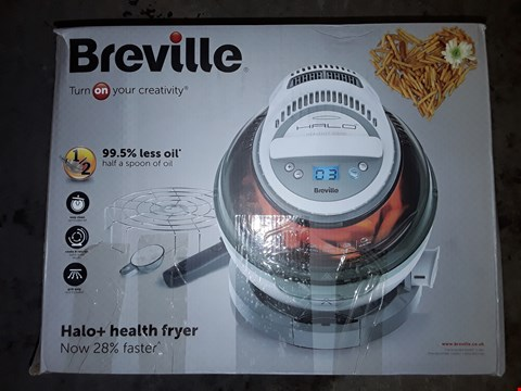 Lot 315 BREVILLE HALO+HEALTH FRYER