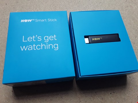 Lot 18 BOXED NOW TV SMART STICK