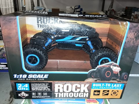 Lot 550 ROCK THROUGH ) RC RALLY CAR