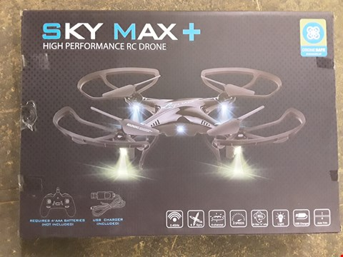 Lot 7263 BOXED SKY MAX+ HIGH PERFORMANCE DRONE