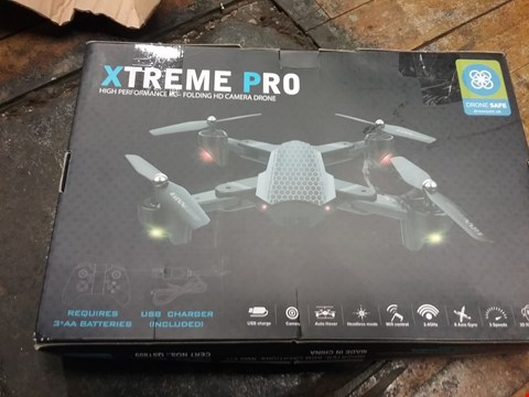 Lot 2673 EXTREME PRO FOLDABLE DRONE WITH HER CAMERA