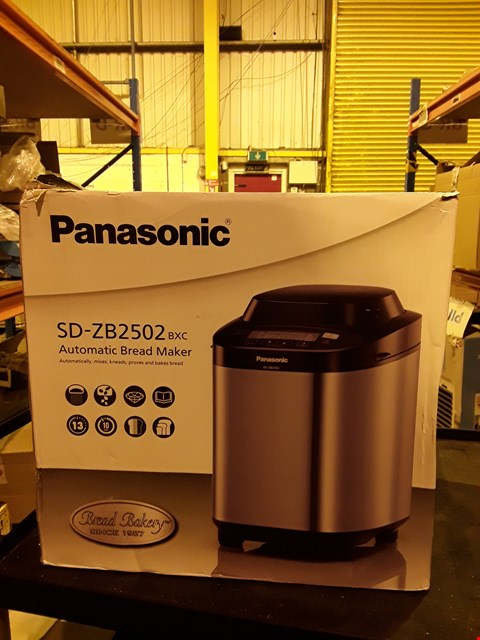 Lot 2641 PANASONIC SD-ZB2502 BREAD MAKER
