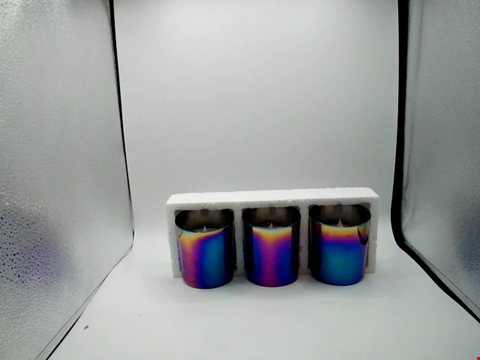 Lot 1019 BOXED DESIGNER ELECTRIC CANDLE LIGHTS PACK OF THREE