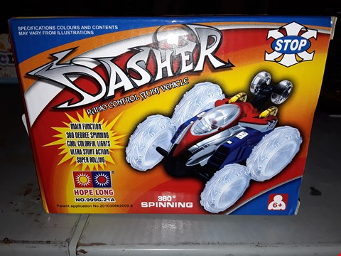 Lot 633 DASHED)  RC STUNT VEHICLE