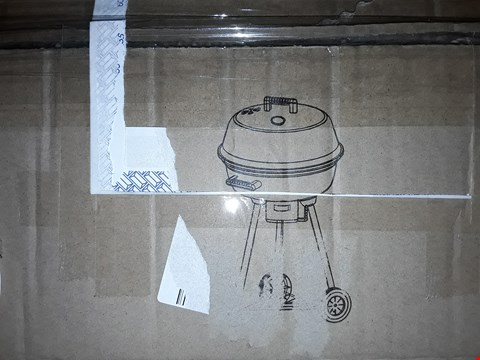 """Lot 7678 Grade 1 27"""" CHARCOAL KETTLE GRILL BBQ  RRP £45.00"""