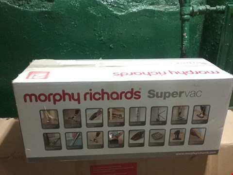 Lot 3359 MORPHY RICHARDS SUPERVAC CORDLESS BAGLESS UPRIGHT VACUUM CLEANER