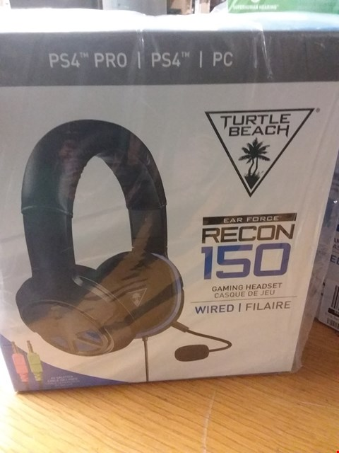 Lot 14 BRAND NEW TURTLE BEACH RECON 150 GAMING HEADSET RRP £65.00
