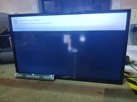 "Lot 107 LUXOR 32"" SMART HD READY LED TELEVISION WITH REMOTE RRP £179.99"