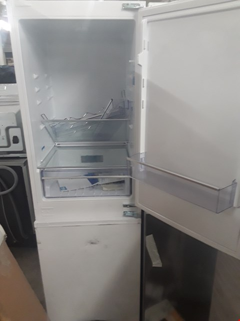 Lot 419 BEKO ICQFD155 WHITE INTEGRATED FRIDGE FREEZER