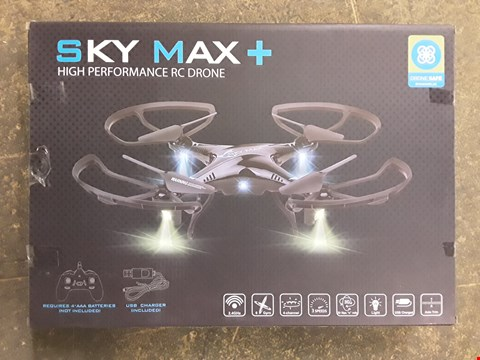Lot 7262 BOXED SKY MAX+ HIGH PERFORMANCE DRONE